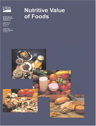 Nutritive Value of Foods (Nutrition Value Of Foods)