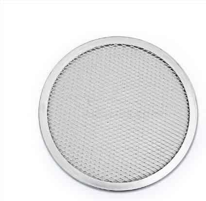 New Star Foodservice 50974 Pizza / Baking Screen, Seamless, Commercial Grade, Aluminum, 16 inch, Pack of 6