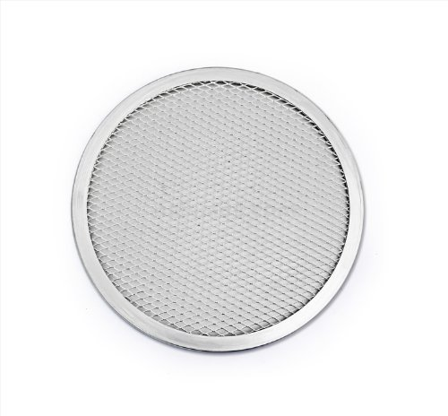 New Star Foodservice 50936 Pizza/Baking Screen, Seamless, Commercial Grade, Aluminum, 8 inch, Pack of 6 by New Star Foodservice