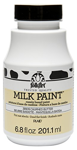 FolkArt Milk Paint in Assorted Colors (6.8 oz), 38909 Churned Butter
