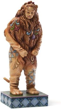 Enesco Jim Shore Wizard of Oz Cowardly Lion Figurine, 7.875-Inch