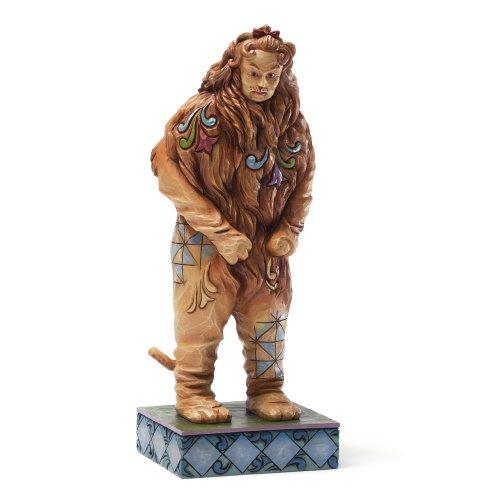 Enesco Enesco Jim Shore Wizard of Oz COWARDLY LION Figurine, 7.875-Inch