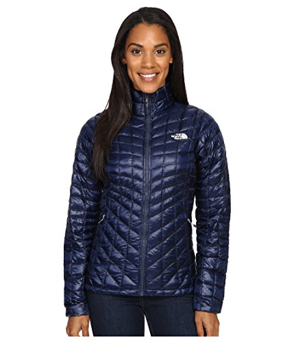The North Face Thermoball Full Zip Jacket Women's Cosmic Blue/Arctic Ice Blue Large by The North Face