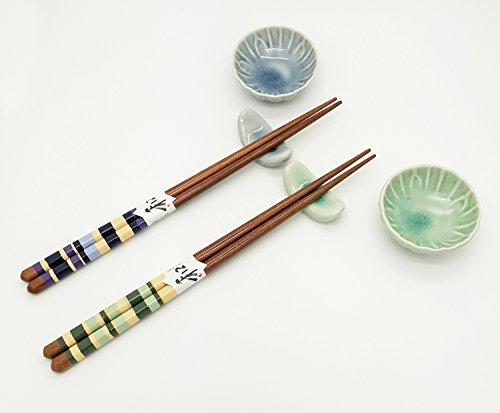 chopstick reviews japanese asian dining sushi sashimi utensils chopsticks set with soy sauce. Black Bedroom Furniture Sets. Home Design Ideas
