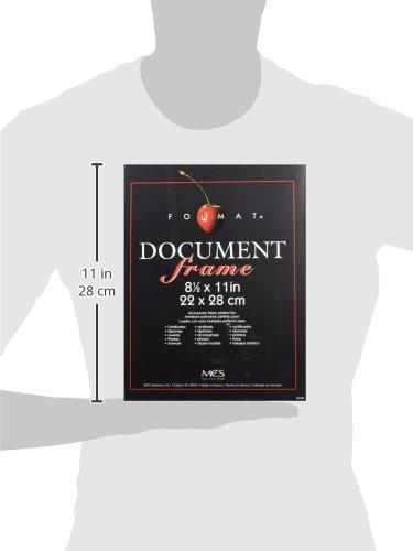 SPIG9 MCS Black Format Frame – 8.5×11 (40957)