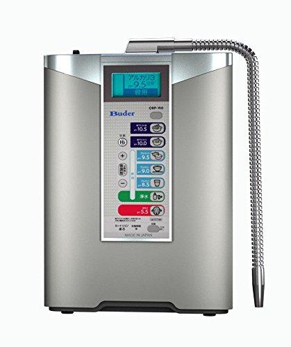 Buder Counter-top Alkaline D lonizer/Aqua Ionizer/Produces pH 2.7-10.5 Alkaline Water | Max. -1000mV ORP | 12000 Filter Lifetime | Made in Japan (110V HI-TA837) (1-Not hold up under lonizer)