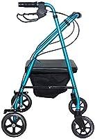 ZXXX Andador Plegable con Asiento 4 Ruedas para Ancianos, con ...