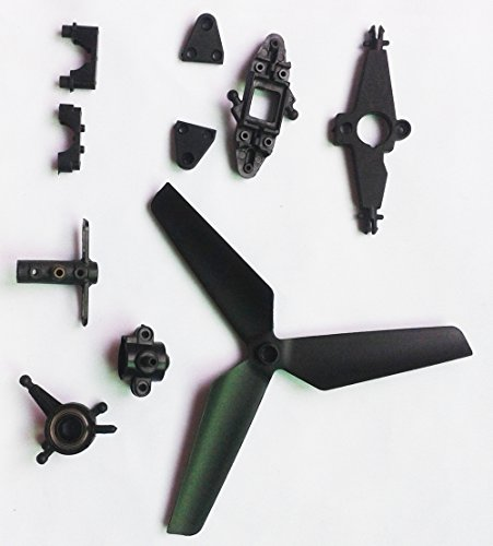 Night lions Tech(TM) Tail Rotor with Grip Set spare parts for MJX T23 rc ()