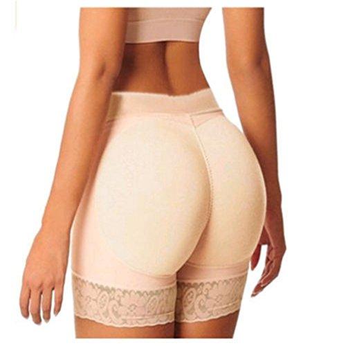 Zarbrina Womens Fake Buttock Briefs Butt Lifter Padded Control Panties Hip Enhancer Underwear Shapewear Boyshort