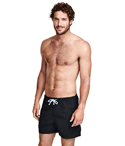 Mens Ex H&M Swimming Shorts in Black S