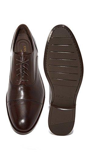 Brown Toe Dark Cole Harrison Grand Cap Haan Mens Oxford n4W4fqwv8x
