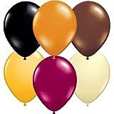 "11"" Autumn Assortment Balloons (100 ct) (100 per package)"
