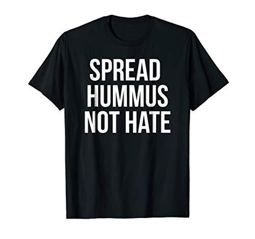 (Spread Hummus Not Hate T-shirt Halloween Christmas Funny)