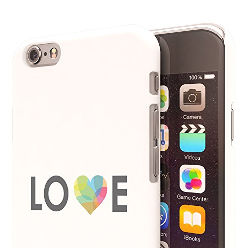 Koveru Back Cover Case for Apple iPhone 6 - Love with a heart