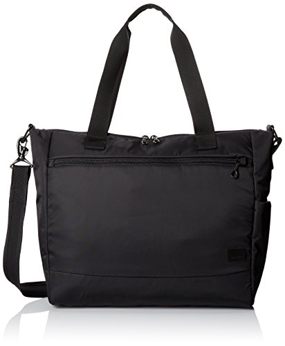 - Pacsafe Citysafe CS400 Anti-Theft Travel Tote, Black