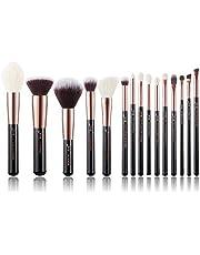 Jessup 15pcs Makeup Brushes Make up Tool Kit Beauty Professional Eyeshadow Power Lipstick Blending Cheeck Cosmetic Brushes Set