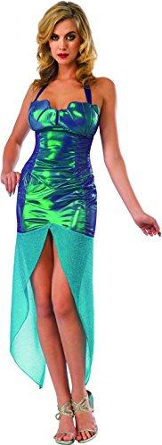 Rubie's Costume Co Women's Sea Siren Costume, Blue, Medium