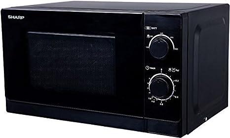 Sharp R200BKW Color negro- Microondas: Amazon.es: Hogar