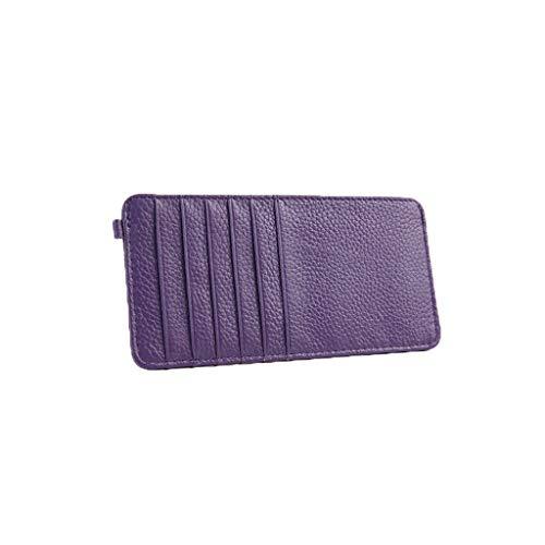 Couple Multi Avec Plusieurs D'affaires Slim Titulaires Purple cartes De Cartes Pour Hommes Contenants Portefeuilles Crédit Grandes D'identité Banca zq5npE
