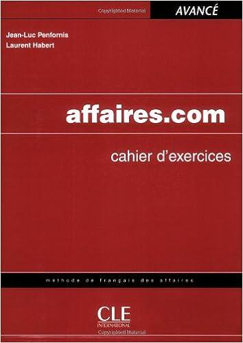Téléchargement Affaires.com Cahier d'exercices epub pdf