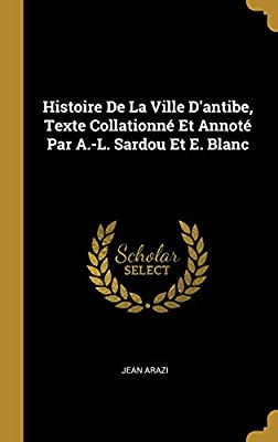 Antibes (Blanche) (French Edition)