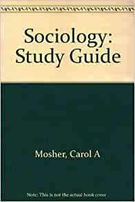 Amazon Com Study Guide For Sociology By Rodney Stark border=