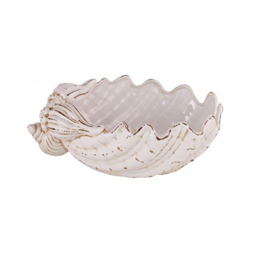 TIC Collection 26-718 Giant Clamshell Bowl (Shell Bowl Large)