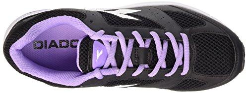 Diadora Shape 4 - Sneakers Unisex adulto blanco y negro