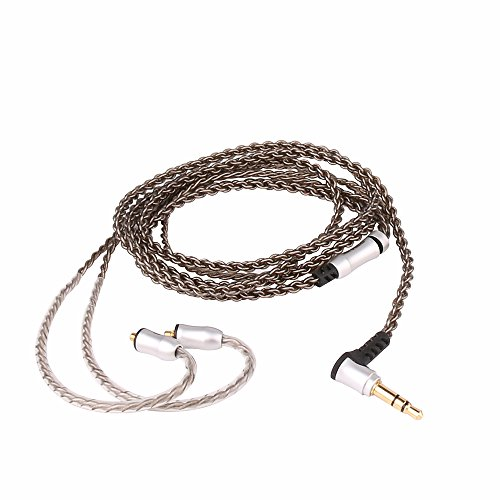 SIVGA Metal In Ear Monitor with Triple Drivers- 2 Balanced Armature Driver and Dynamic Driver, Universal Fit Noise Isolating In Ear Headphones Earbuds, SM002 Sliver by SIVGA (Image #3)
