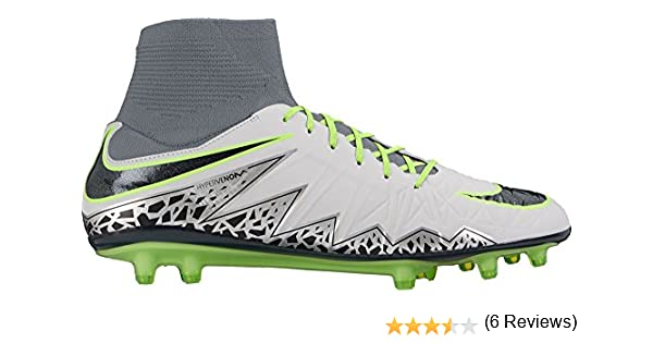 3760d7f1b36 uk amazon nike mens hypervenom phatal ii dynamic fit firm ground cleats  pure platinum 10.5 soccer