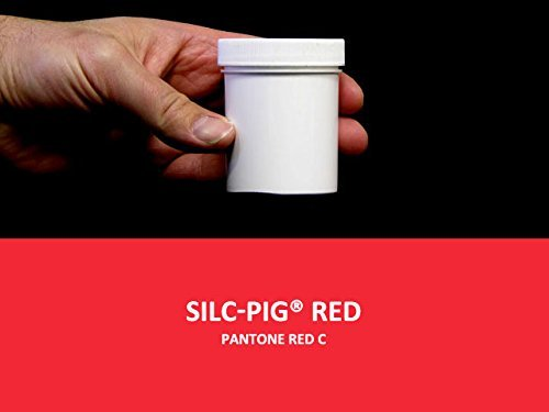 Smooth-On Silc Pig RED 4 oz. Jar Silicone Pigment Paint Tint