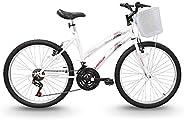 Bicicleta Aro 24 Parati Branca 21v, Track Bikes