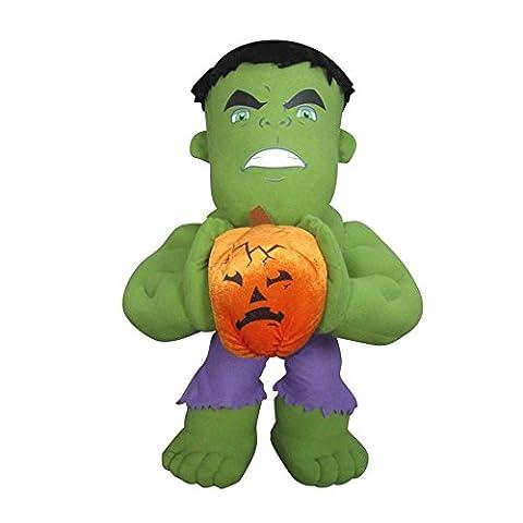 Marvel Comics Halloween Hulk Porch Greeters Soft Plush Toy Figure Statue 21in (Plush Porch Greeter)
