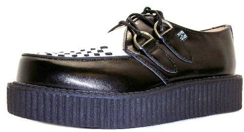 T.U.K. Mondo Lo Creeper - Zapatillas para mujer negro negro