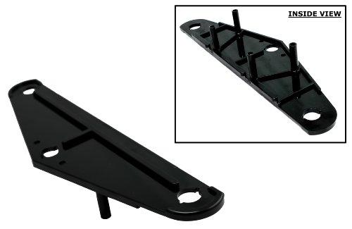 Tomcat Side Plate (Pair) W 2 Holes Replacement for Aquabot & Aquabot Turbo Aqua Products P n: 3400b (Black)