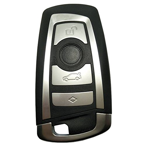 Replacement Key Case For BMW 1 3 5 7 Series X3 X4 X5 X6 Entry Remote Control Key Fob (Bmw Replacement Key)