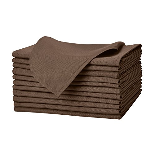 Remedios Polyester Washable Restaurant Chocolate