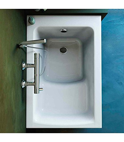 Vasca Da Bagno Con Sedile Integrato.Vasca Inc Connect Van 105x70 Amazon It Casa E Cucina