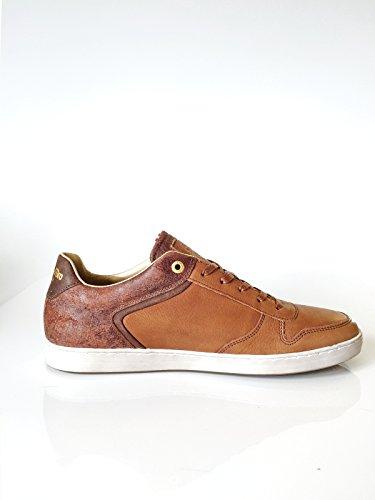Pantofola d'Oro Herrenschuh Sneaker Echtleder braun Größe 41