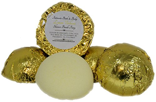 Verbena Aromatherapy - Shower Bombs! 5 Pack Aromatherapy Shower Steamers - Lemon Verbena