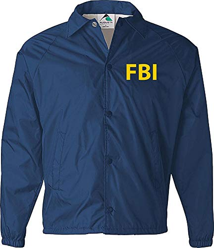 FBI Jacket, Government Agent, Secret Service, Police, Burt Macklin Costume, CIA Jacket Navy]()