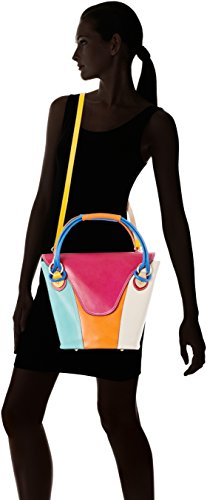 main Borse Mix Chicca pour Sac Multicolore Multicolore à 9144 femme IxqdT