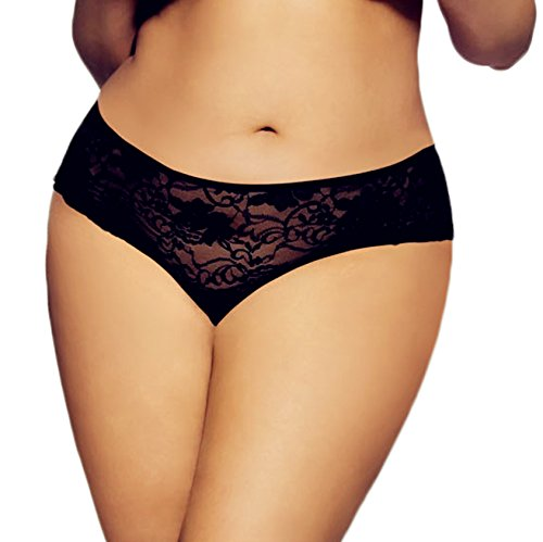 1127b938f99 Women s Open Crotch Lace Bandage Briefs Knickers Boxer Sexy - Import It All