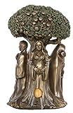 Sarimoire Altar Tarot Cloth Goddess Statue Tree of