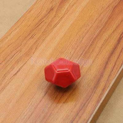 Ceramic Door Drawer Furniture Pull Handle Cabinet Cupboard Locker Knob Red from notebook.edge