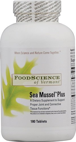 FoodScience of Vermont Sea Mussel PlusT -- 180 Tablets - 3PC by Foodscience Laboratories