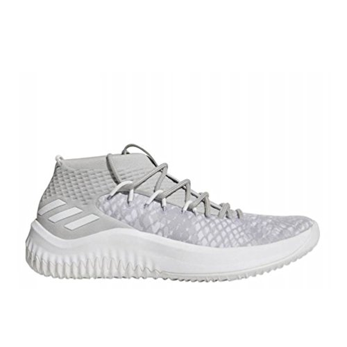 adidas Dame 4 Schuh Männer Basketball Grau weiß