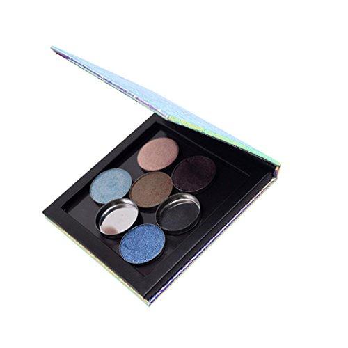 AMA DIY Empty Magnetic Makeup Palette Case Eyeshadow Lip Gro