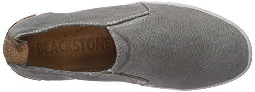 Blackstone JL57, Damen Slipper Grau (Steel Grey)