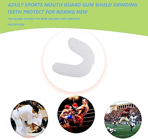 BlackUdragon Adult Sports Mouth Guard Gum Shield Grinding Teeth Protect For Boxing NEW